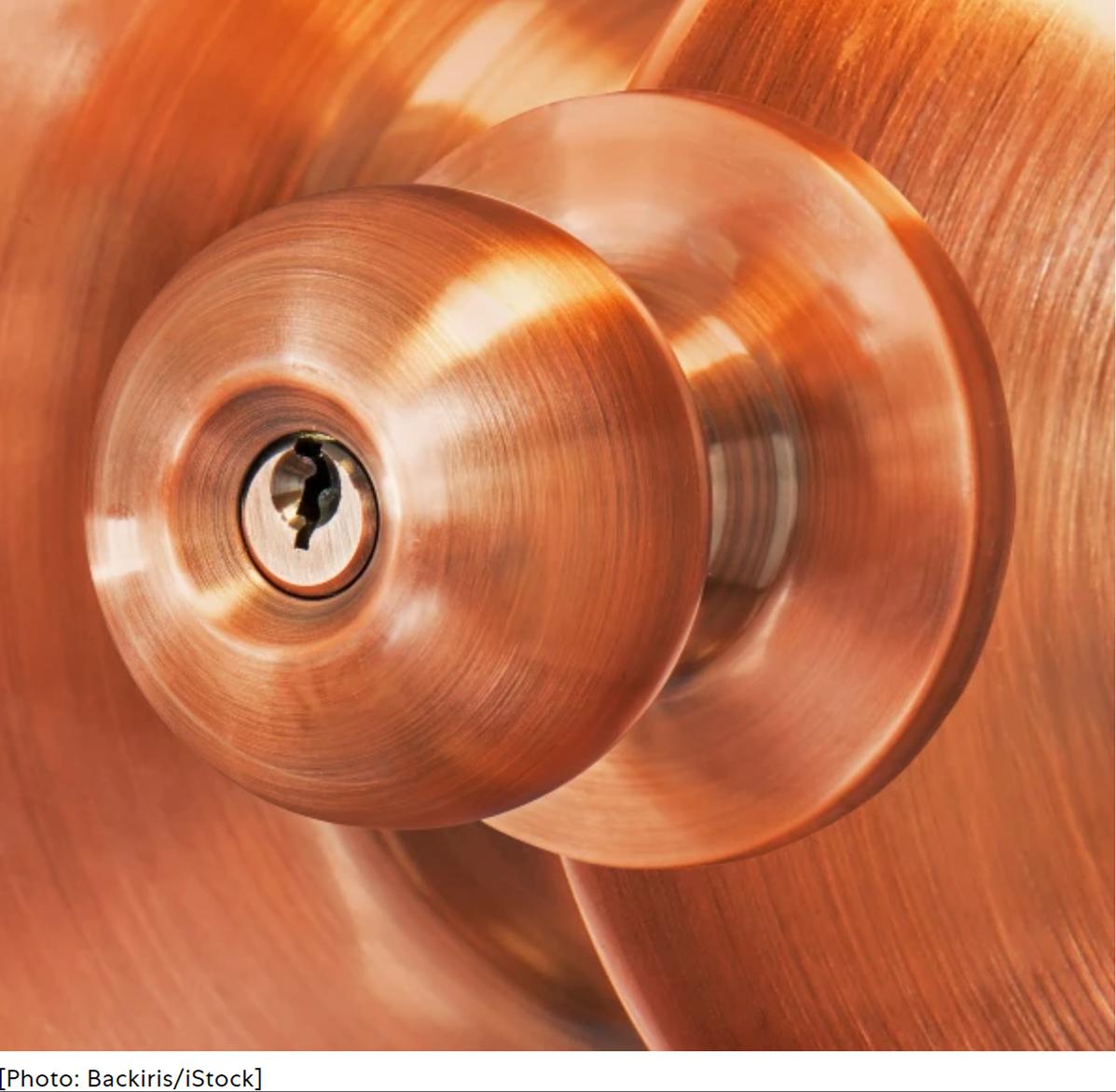Copper kills coronavirus